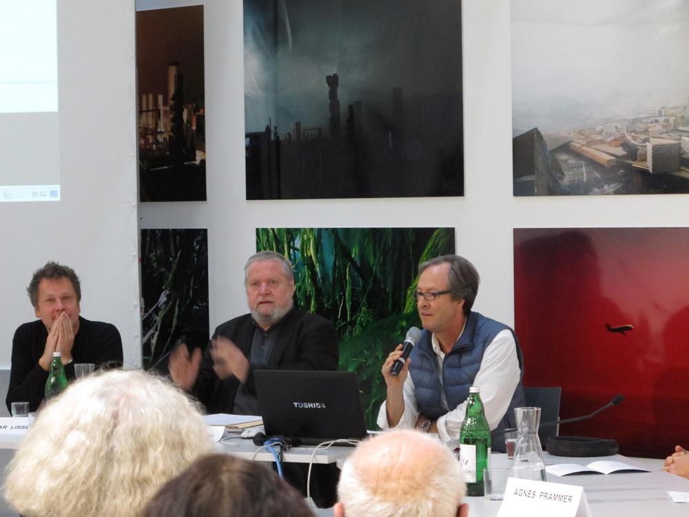 Edgar Lissel, Peter Weiermair, Michael Mauracher © Gunda Achleitner, MUSA