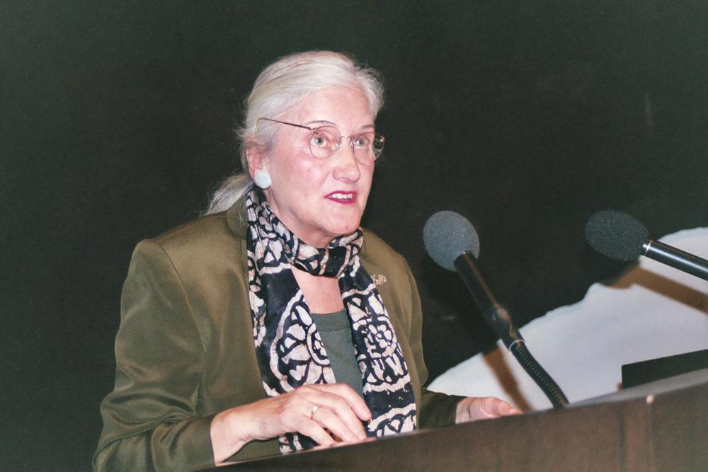 Anna Auer, symposium 2003 Mannheim/DE