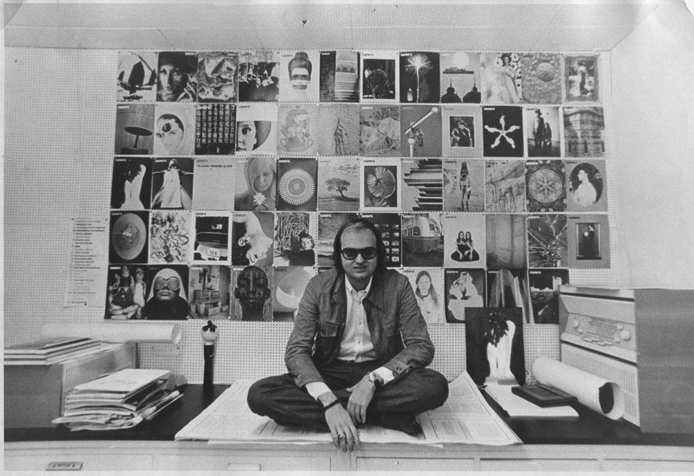 Allan Porter, Camera editorial office 1970