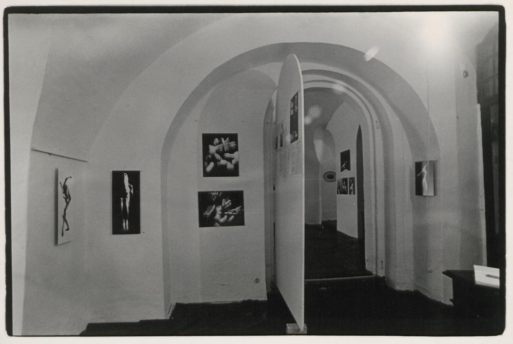 Exhibition »Thomas Lüttge: Actiographien«, gallery »Die Brücke«, December 1970 © Werner Mraz