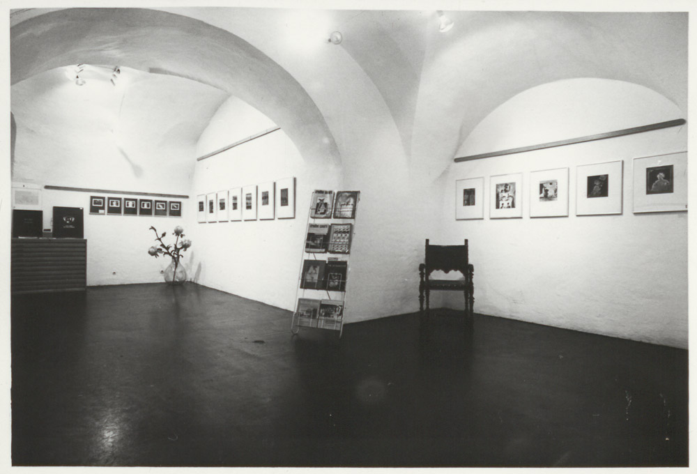 Exhibition »Sequenz« on occasion of 50 years journal »Camera«, gallery »Die Brücke«, December 1972 © Werner Mraz