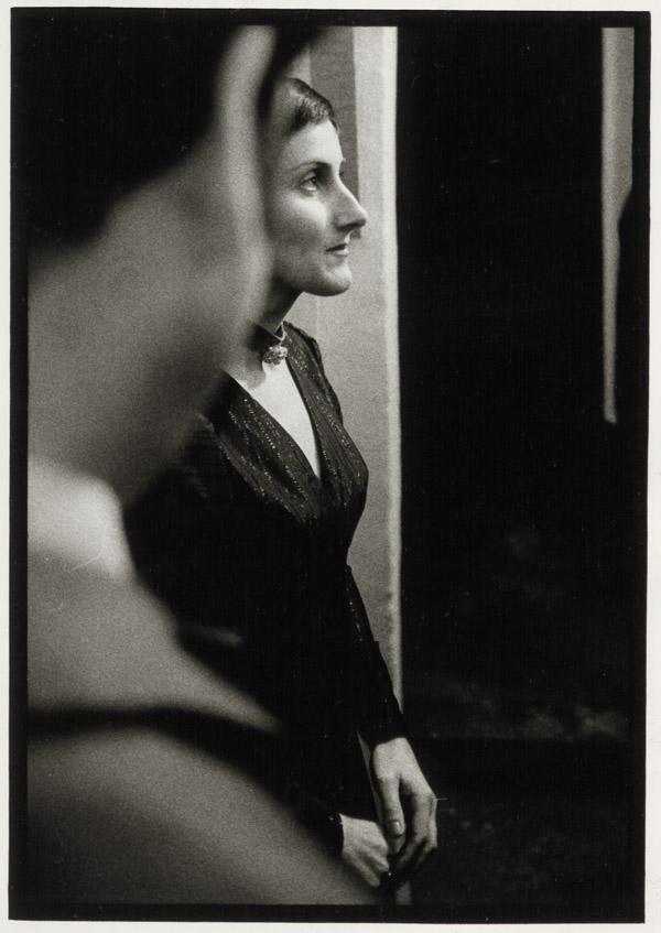 Anna Auer, exhibition opening »Wittigo Keller« in the gallery »Die Brücke«, 1970 © Werner Mraz
