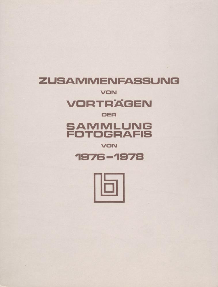Sammlung Fotografis 1976